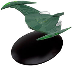 Eaglemoss 27 Romulan Warbird 2152