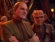 Odo and Quark, 2374