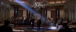 Romulanischer Senat Sitzungshalle 2379