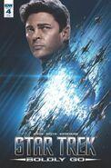 Star Trek Boldly Go, Issue 4 RI-A