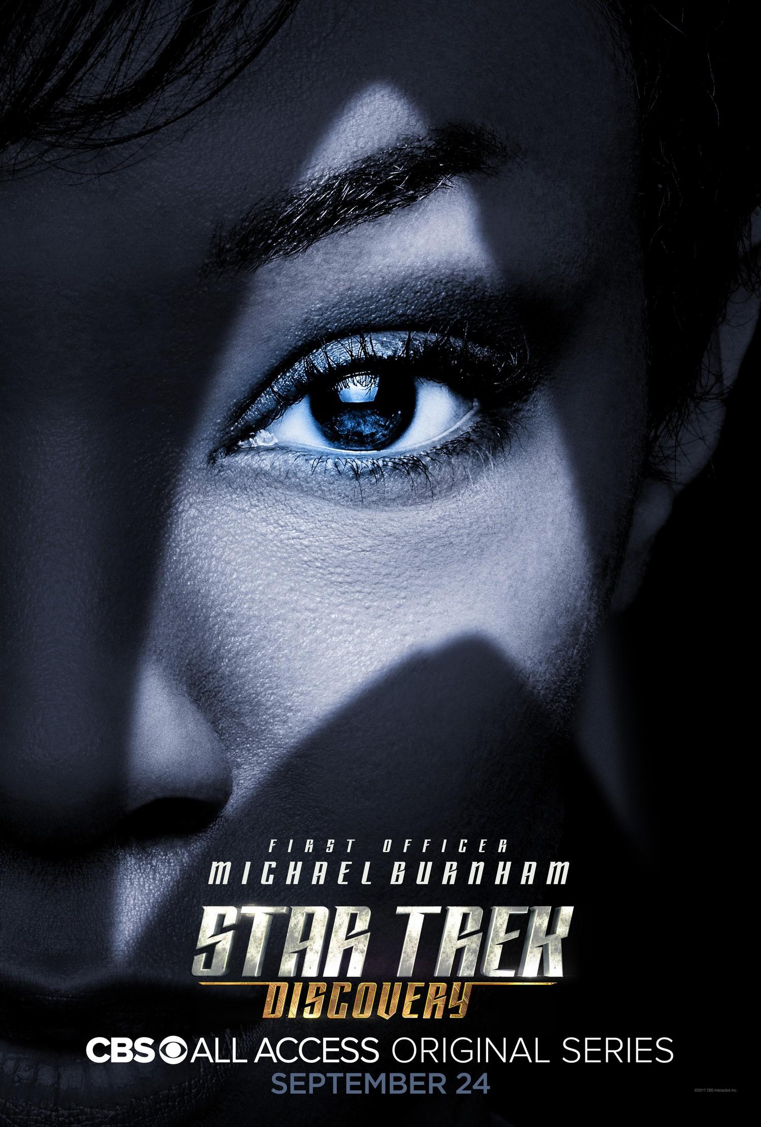 FileStar Trek Discovery Season 1 Michael Burnham Poster