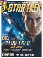 Star Trek Magazine issue 186 cover