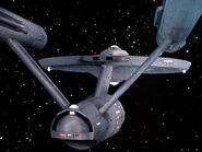 USS Enterprise, aft view