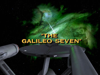 The Galileo Seven title card