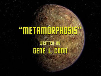 Metamorphosis title card
