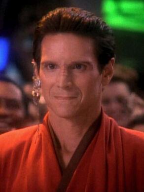 Vedek Bareil Antos, a Bajoran male (2371)