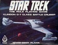 Klingon D-7 Deck Plans