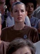 Besatzungsmitglied der Enterprise in zweiteiliger brauner Uniform 2273