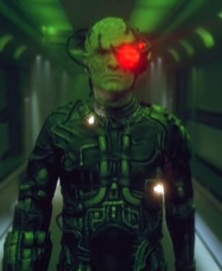 ...as hallucinated Borg drone