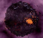 Borg sphere disintegrating