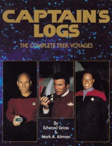 Captains Logs The Complete Trek Voyages