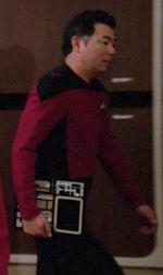 Command division bridge officer, 2364