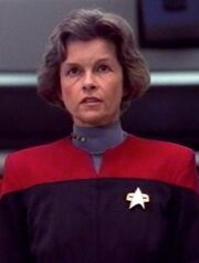 Geschnittene Szene - Bujold als Janeway