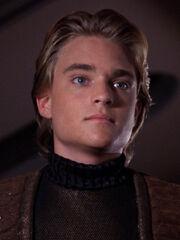 Jeremiah Rossa (Jono) 2367 auf der Enterprise-D