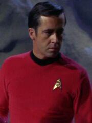 Sicherheitsoffizier Enterprise 2267 Mission Hüter der Ewigkeit
