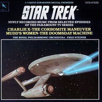 Star Trek Newly Recorded Music volume 1 cover
