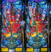 Star Trek Pinball Stern playfield