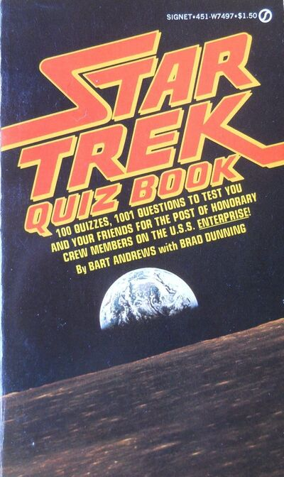 Star Trek Quiz Book