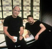 Terry O'Quinn and Jonathan Frakes