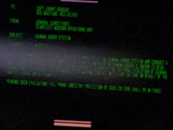 Jimmy Arakaki on a Starfleet Command order