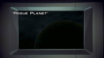 Rogue Planet title card