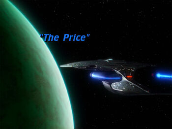 The Price title card