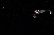 D7 firing a photon torpedo