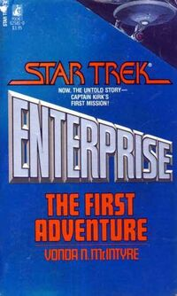 Enterprise- The First Adventure, cover