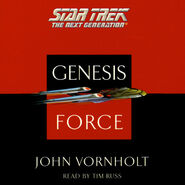 Genesis Force audiobook cover, digital edition