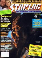 Starlog issue 102 cover