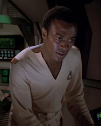 ...as an Epsilon IX station technician.