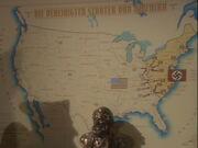 Karte besetzte USA