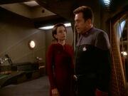 Kira informiert Ross Blockade