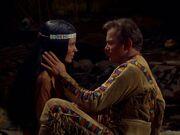 Kirk und Miramanee