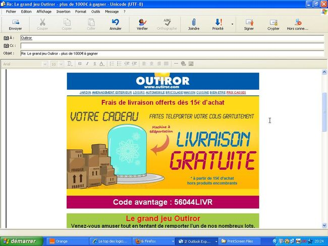 ScreenShot Outiror téléportation001