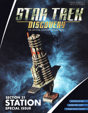 Star Trek Discovery Official Starships Collection Section 31 Station cover