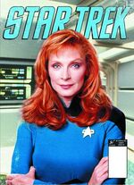 Star Trek Magazine US issue 49 PX cover