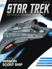 Star Trek Official Starships Collection issue 80