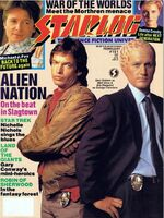 Starlog issue 151 cover