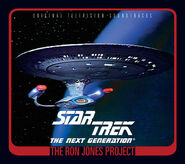 The Ron Jones Project booklet cover