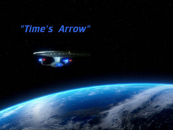 Time's Arrow title card