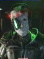 Borg-Drohne analysiert Voyager-Sonde