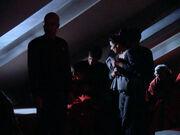 Die Besatzung der Enterprise friert 2364