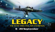Legacy The Star Trek Fine Art Exhibition logo