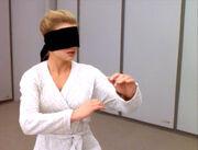 Sito Jaxa, blindfolded