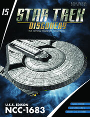 Star Trek Discovery Official Starships Collection issue 15