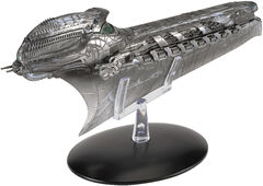 Eaglemoss Klingon Cleave Ship