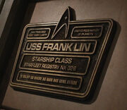 Franklin-plaque