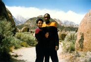 Heather Ferguson and Tim Russ