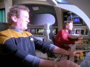 Kira und O'Brien entdecken ein klingonisches Minenfeld